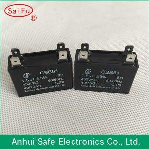 450V Cbb61 Sh Polypropylene Capacitor for Motor pictures & photos