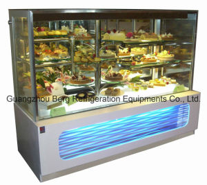 Hot Sale Refrigeration Equipment Marble Base Glass Cake Display Chiller pictures & photos