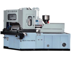 Double Assisstant Cylinder Open-Close Mold Injection Blow Molding Machine pictures & photos