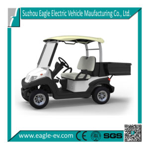 New Electric Golf Car, 2 Seats, Cargo Box, CE pictures & photos