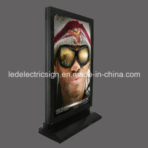 Customized Free Standing LED Poster Light Box pictures & photos