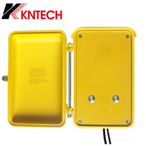 Kntech Knsp-04 Industrial Intercom System Roadside Telephone Industrial SIP Phone pictures & photos