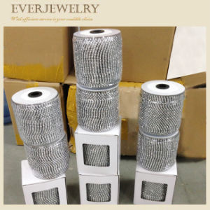 Crystal Rhinestone Chain Trimming Rhinestone Metal Cup Chains pictures & photos
