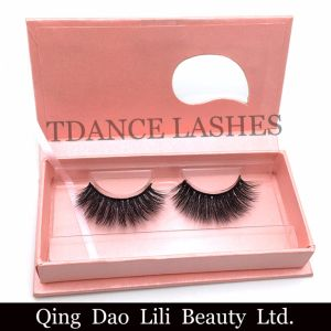 OEM Custom Lashes Packaging Thick Long Russian Volume Strip 3D Lashes pictures & photos