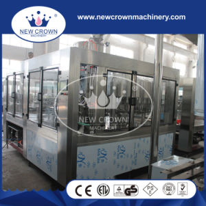 8000bph Screw Feeding Type Water Bottle Filling Machine with Rotary Cap Unscrambler pictures & photos