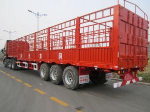 12.5m Three Axles Warehouse Semi-Trailer / Stake Semitrailer