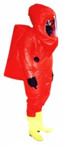 Complete Sealing Chemical Protective Suit pictures & photos