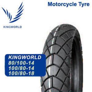 High Strength 80/100-14 100/80-14 Motorbike Tires pictures & photos