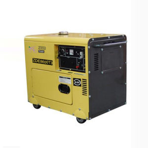 8kVA Three Phase Silent Type Portable Diesel Generators (ZDE8600T3) pictures & photos