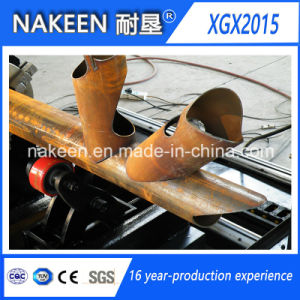 Three Aixs CNC Steel Pipe Cutting Machine for Round Pipes pictures & photos