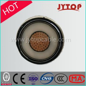 High Voltage Hv Cable, Single Core XLPE Insulation Copper Cable pictures & photos