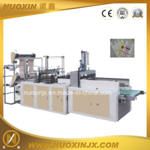 Auto Hot Sealing Cold Cutting T-Shirt Bag Making Machine (NuoXin) pictures & photos