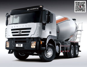 Genlyon 380HP 6X4 Concrete Mixer Truck for Congo pictures & photos