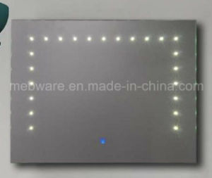 2016 New Touch Screen LED Bathroom Mirror pictures & photos