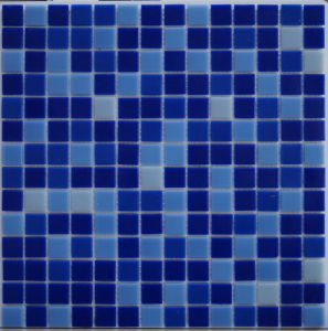 2016 Newest Design Blue Crystal Glass Mosaic for Swimming Pool (FYSB2315N)