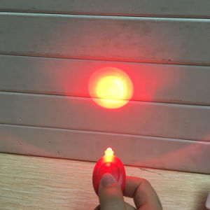 Factory Customized Red White LED Mini Practical Safety Warning Bike Light pictures & photos