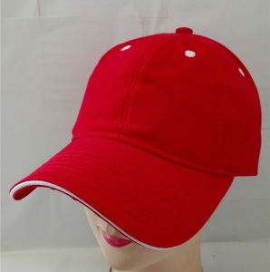(LPM15194) Baseball Sandwich Cap Hat Embroider pictures & photos