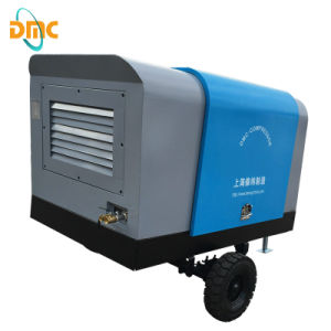 Diesel Driven Portable Screw Air Compressor pictures & photos
