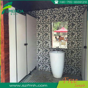 Made in China Cheap HPL Toilet Partitions pictures & photos