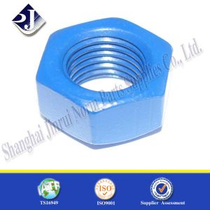 GB6175 PTFE Plated Heavy Hexagonal Nut pictures & photos