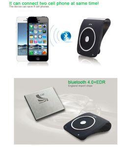 Sun Visor Clip Bluetooth Wireless Handsfree Car Kit Bt18 pictures & photos