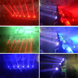 DJ Lighting Double Faces Mini Moving Head 2X10W LED Beam Light pictures & photos