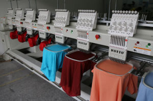 High Speed 8 Heads Computerized Embroidery Machine pictures & photos