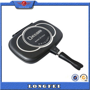 The Best Selling Products Die Casting Double Grill Pan pictures & photos