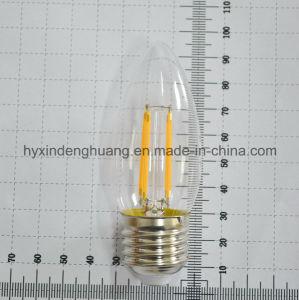 LED Filament Lamp C35 4W E14