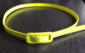 Kid Color Girl Skinny PU Belt