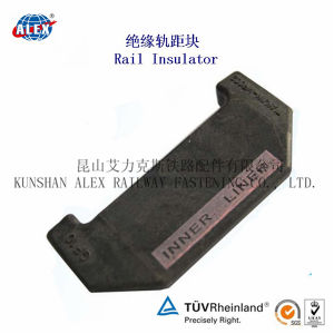 Rail Spacer with Glass Filled Nylon for Railroad pictures & photos