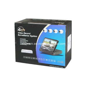 720p 4CH Wireless NVR Kit with Built-in 10 Inch Screen pictures & photos