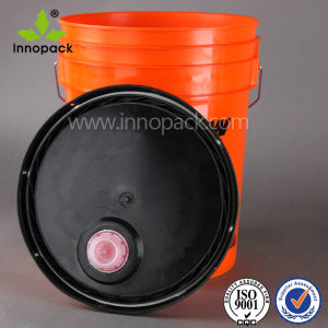 20L 5gallon Paint Bucket with Spout Lid and Specific Pantone Color pictures & photos