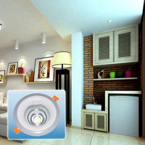 Hot Selling 85-265V Double Light COB Round Light/LED Spotlight pictures & photos