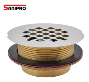 Shower Drain Brass Bathroom Brass Drain Cover pictures & photos