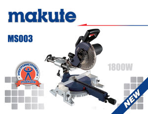255mm 1800W Slide Eletric Wood Saw / Sliding Mitre Saw pictures & photos