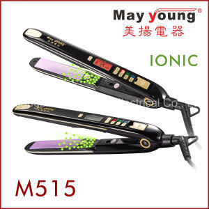 Wholesale Mch Heater LCD Display Negative Ions Hair Straightener pictures & photos