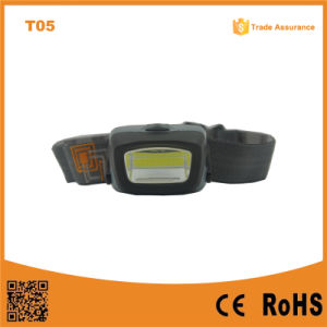 T11 COB LED Headlight Portable Outdoor Emergency Camping COB LED 3xaaa Powerful Headlamp pictures & photos