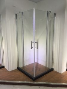 Luxury Popular Bathroom Glass Shower Screen (ADL-8A62) pictures & photos