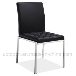 Modern Stainless Steel Black Cafe Dining Leather Chair (SP-LC275) pictures & photos
