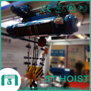 a Small Lifting Equipment for Crane Wire Rope Lifting Hoist pictures & photos