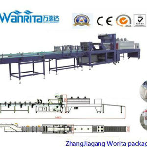 Linear Type Heat Seal Film Over Wrapping Machine (WD-350A) pictures & photos