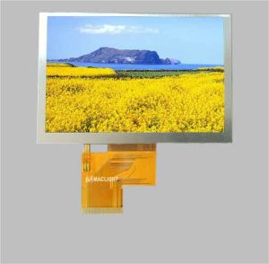 5.0 Inch TFT LCD Module 800X480 Resolution pictures & photos