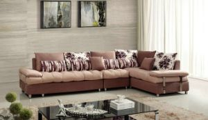 Home Furniture Living Room Sofa Fashion Sofa L Shape Fabric Sofa K56 pictures & photos