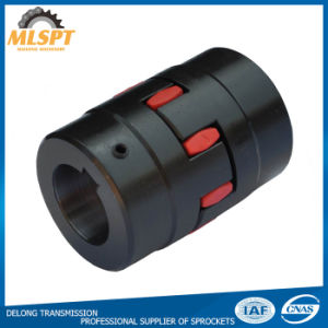 Hot Sale Blacked Cast Iron Flexible Jaw Couplings pictures & photos