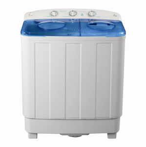 7.0kg Twin-Tub Top Loading Washing Machine for Qishuai Model XPB70-7029SD pictures & photos