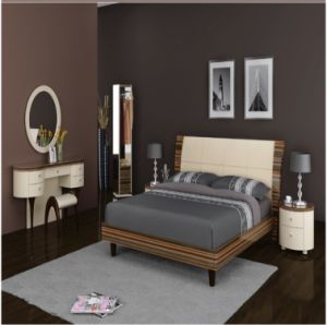 Luxury MDF Bedroom Furniture Sets (SET010)