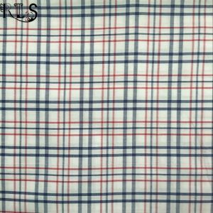 Cotton Poplin Woven Yarn Dyed Fabric for Garment Shirt/Dress Rls60-2po pictures & photos