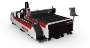 500W Metal Sheet and Tube Cutting Fiber Laser Cutting Machine for Lighting Industry pictures & photos