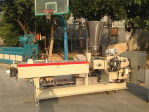 HDPE Pipe Production Plastic Extruder pictures & photos